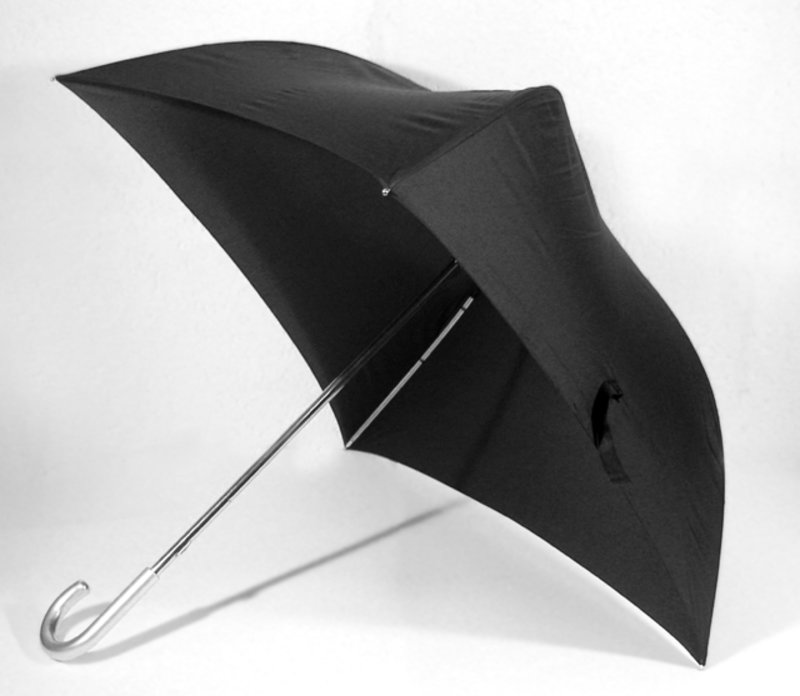 Schirm - schwarz