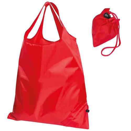Faltbare Einkaufstasche rot