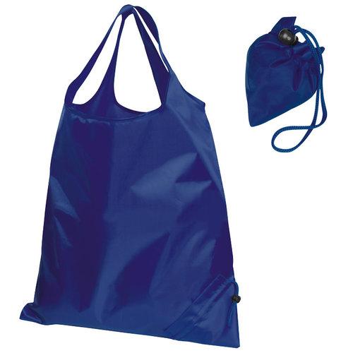 Faltbare Einkaufstasche dunkelblau
