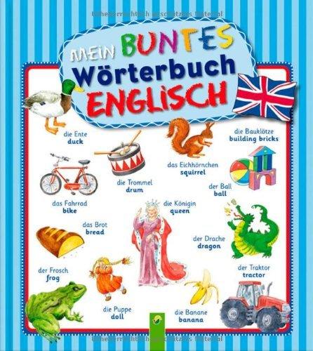 """""""Mein buntes Wörterbuch"""" - Englisch"""
