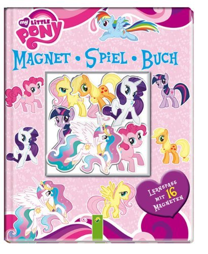 "Magnet-Spiel-Buch ""my little Pony"","