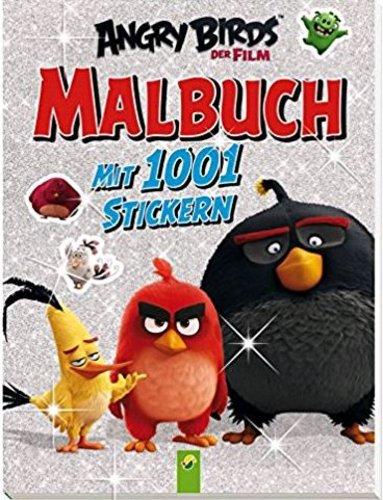 Malbuch Angry Birds mit 1001 Stickern