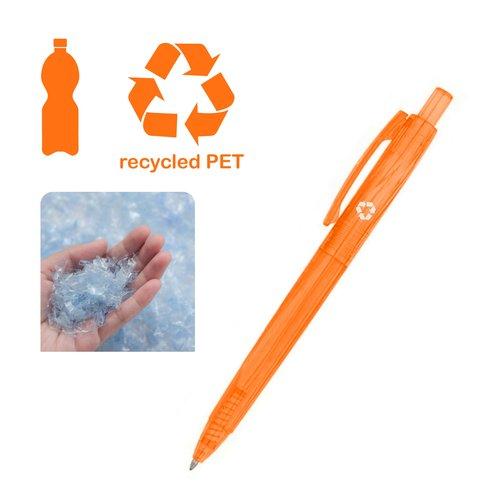 """Kugelschreiber """"World"""", Farbe orange"""