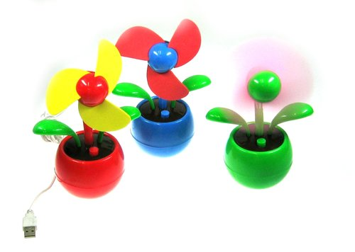 "Ventilator-Blume ""Flower Power"""