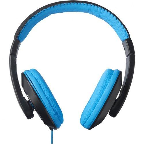 Stereo-Kopfhörer, Farbe blau/schwarz