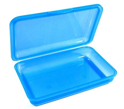Brotbox - blau, Maße: 21 x 13 x 4 cm