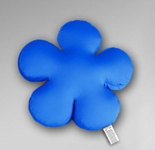 "Relaxkissen ""Blume"", Farbe blau"