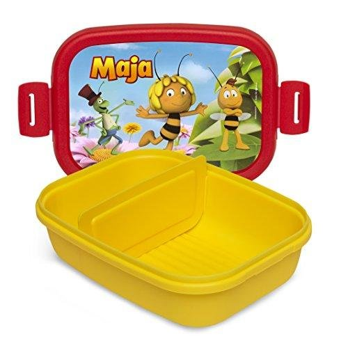 "Lunchbox ""Maja"", Farbe gelb/rot"