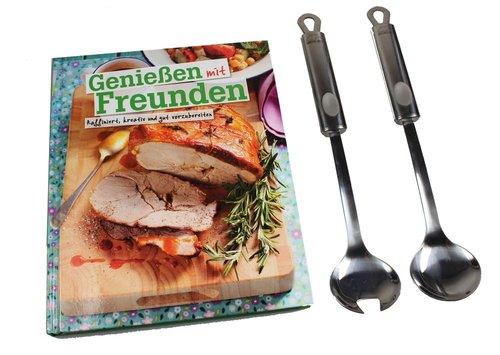Kochset bestehend aus Kochbuch und