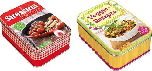 Pfiffige Rezeptbox, sortiert
