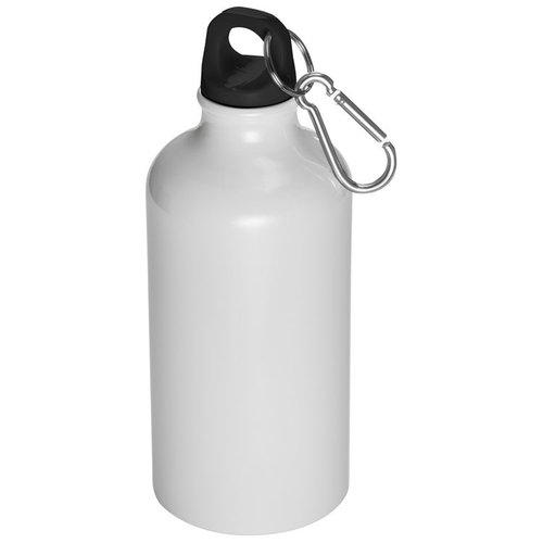 Trinkflasche aus Aluminium, Farbe weiß