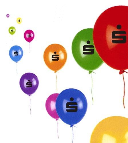 "Luftballon farblich sort. ""S"""