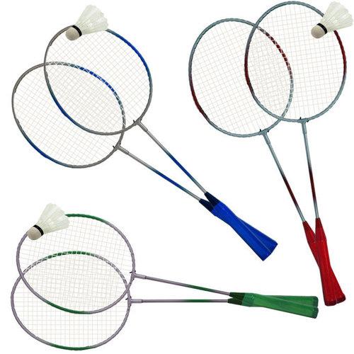 Badmintonset sortiert, bestehend aus