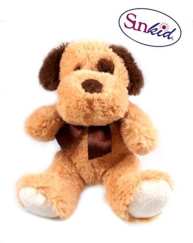 Plüsch-Hund, sitzend, 18 cm