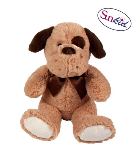 Plüsch-Hund 24 cm, sitzend