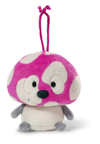 Plüsch Anhänger Pilz Murphy, pink
